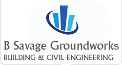 Welcome to B Savage Groundworks Logo